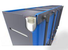 Wereldprimeur met Blue Foot Membranes installatie
