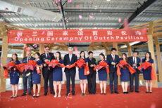 Paviljoen voor Nederlandse producten geopend in China