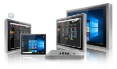 Roestvast stalen en waterdichte panel PC's en displays