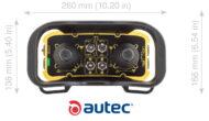 26x14x17 cm transmitter met grote configuratieflexibiliteit
