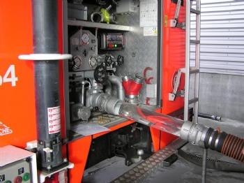 Nieuwe autopomp voor Belgische brandweer