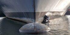 Onderwaterrobot reinigt scheepswanden in Belgische havens