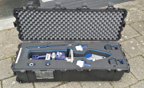 Robuuste koffers met slimme details
