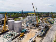Megatanks voor Poolse raffinaderij
