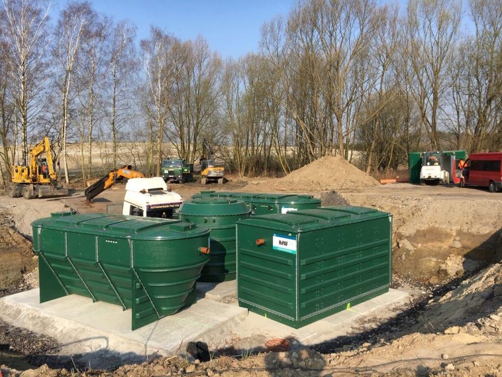 Rioolwaterinstallatie voor het Tsjechische Klimkovice