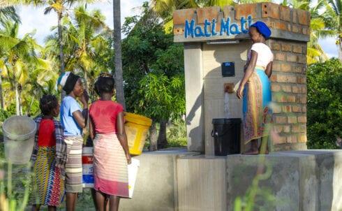 Duurzame watervoorziening in Mozambique voor 6000 mensen per dag