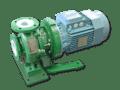 Natronloog toevoegen met magneetgekoppelde centrifugaalpompen