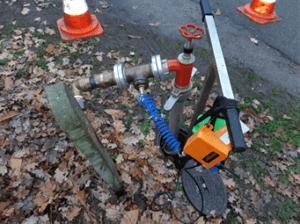 Relatie waterleidingbreuken en blusactiviteiten