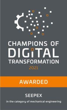 Seepex volgens zakenblad Capital 'Champion of the Digital Transformation'